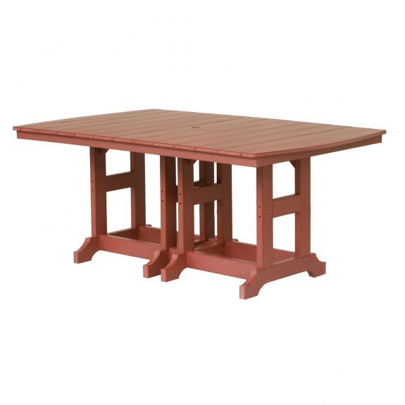 Garden Classic Rectangular Dining Table, Poly