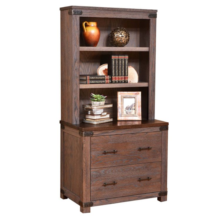 Georgetown Executive Office Set Georgetown lateral file & bookshelf