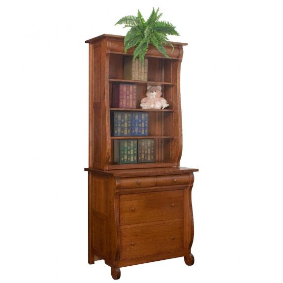 LA-116 Glenwood Bookcase with Lateral File