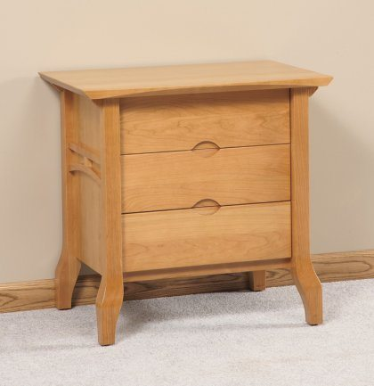 Grand River Bedroom Furniture Set 3 Drawer Nightstand