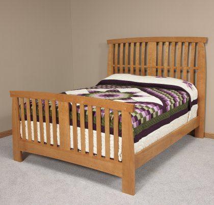 Grand River Bedroom Furniture Set Slat Bed