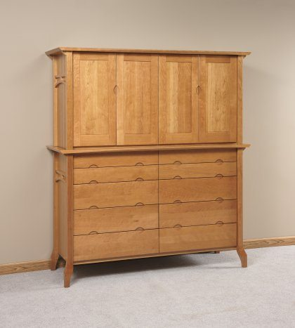 Grand River Bedroom Furniture Set Armoire Mule Chest