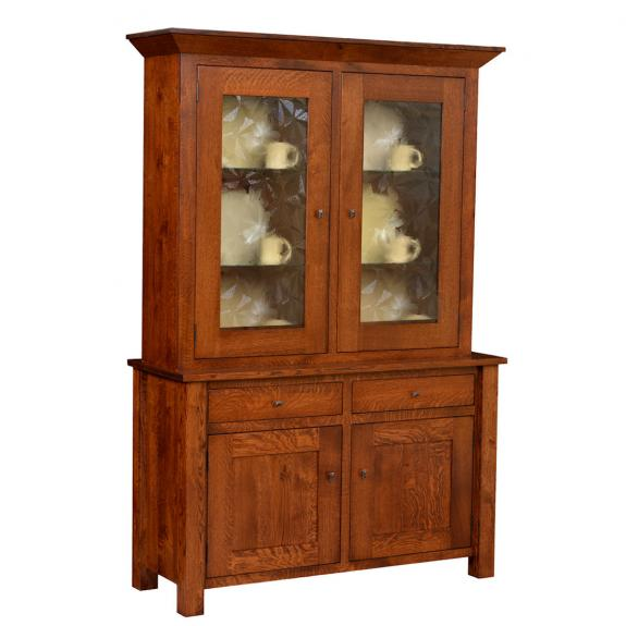 Grandon West Dining Set G28-32F China Cabinet Hutch