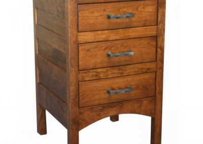 Granny-Mission-3-Drawer-Nightstand-GN1403