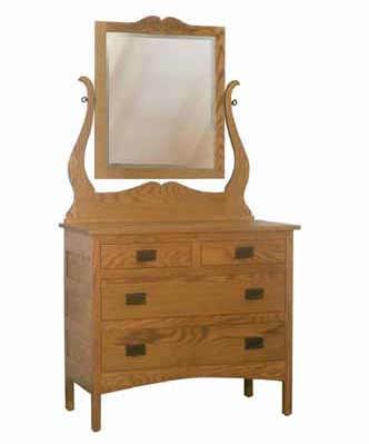 Granny Mission Bedroom Set GD3904 Jr. Dresser
