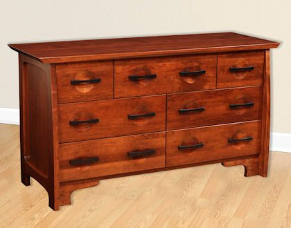 Great River Bedroom Collection Double Dresser
