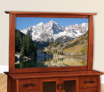 Great River Bedroom Collection Flat Screen Mirror