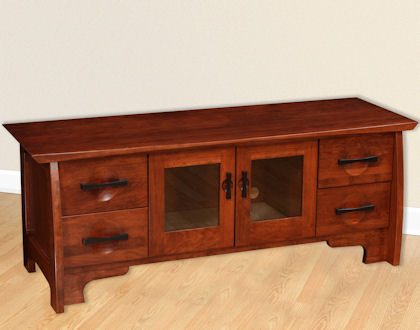 Great River Bedroom Collection Media CD DVD Cabinet