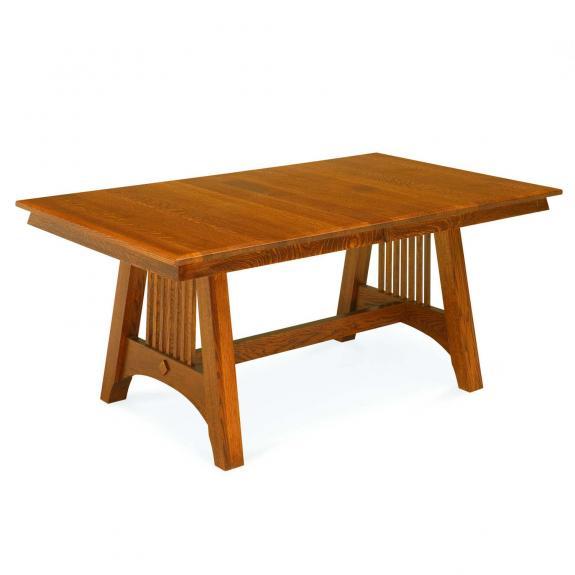 Hartford Mission Wood Dining Table