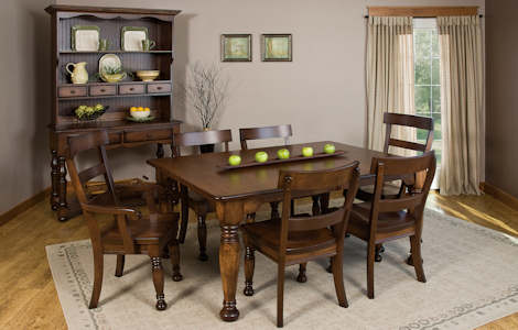Harvest 20 Dining Collection 20 Harvest Dining Table with Leaves