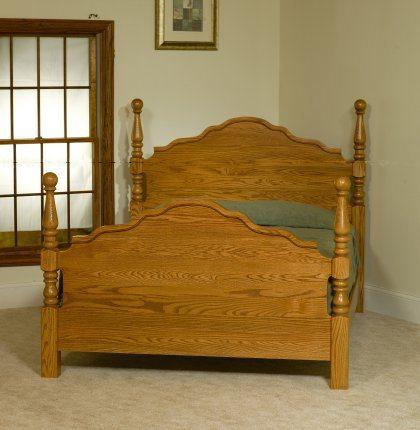 Crown Villa Bedroom Set MB3312 Cathedral Bed