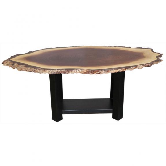 Heritage Live Edge Coffee Tables E130 Walnut Coffee Table