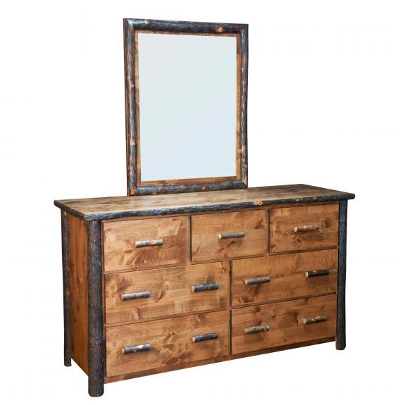 650 Bear Lodge 7 Drawer Dresser