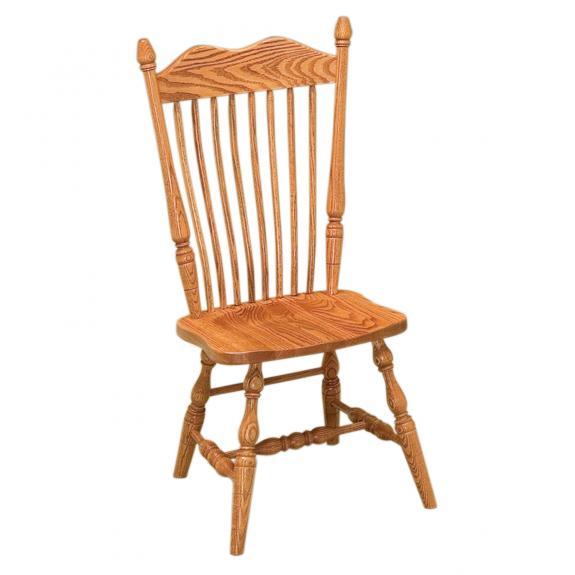 Hoosier Wood Dining Chair