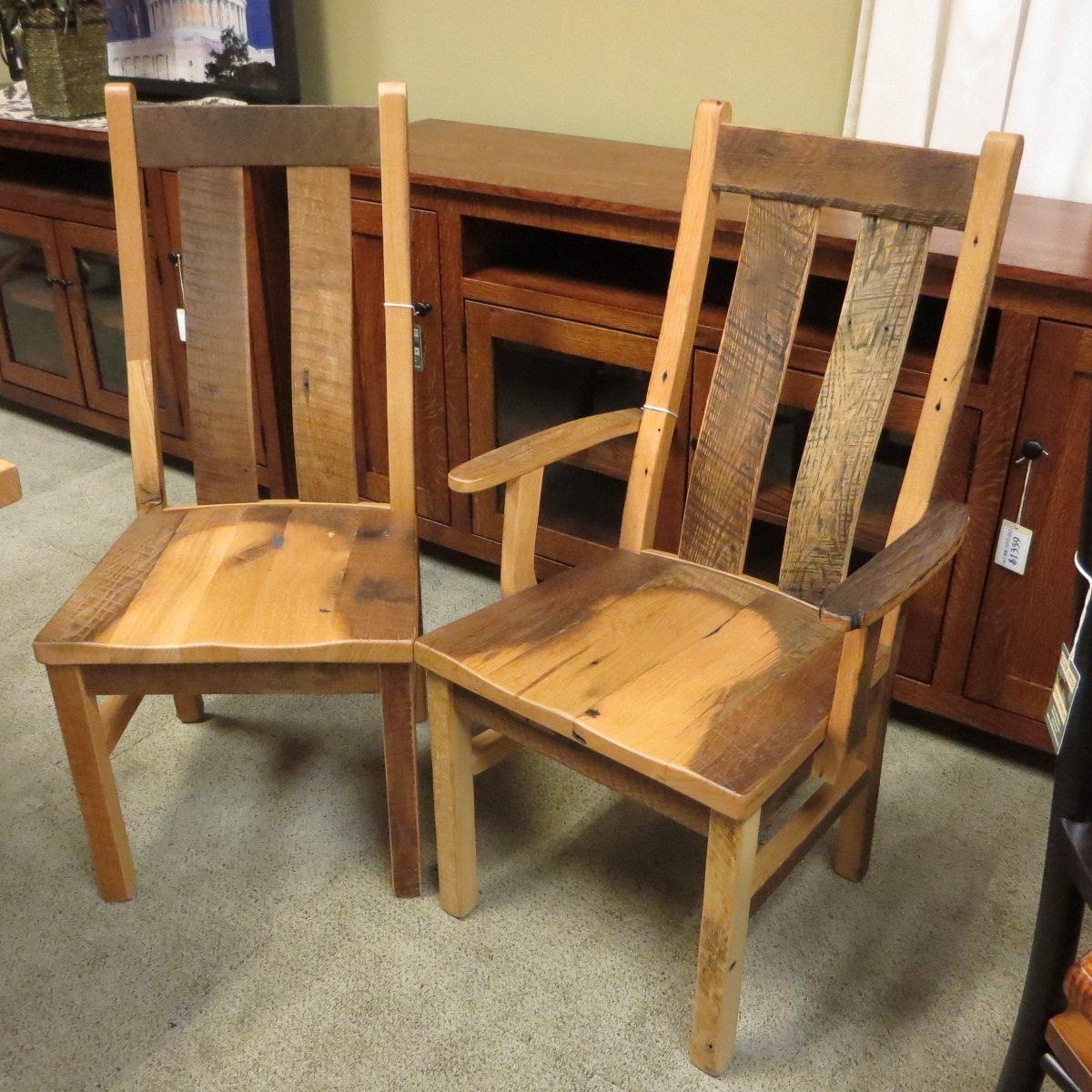 These Dining Room Chairs Are Made From Reclaimed Barn Wood That Is Cleaned  And Kiln Dried. New Life Is Given To Old Wood To Create Beautiful Dining  Room ...