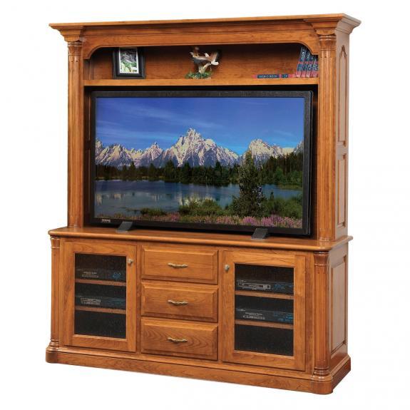 JEF-654-30/662 Jefferson Flat Screen TV Stand