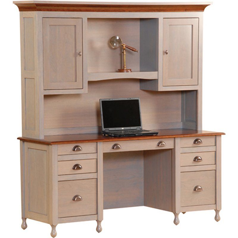 Jamesport Office Collection Jamesport Desk with Hutch