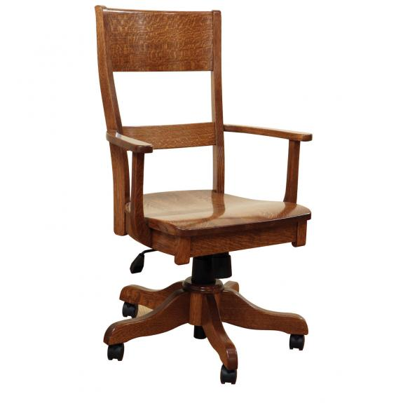JAM-875 Jamestown Wood Desk Chair