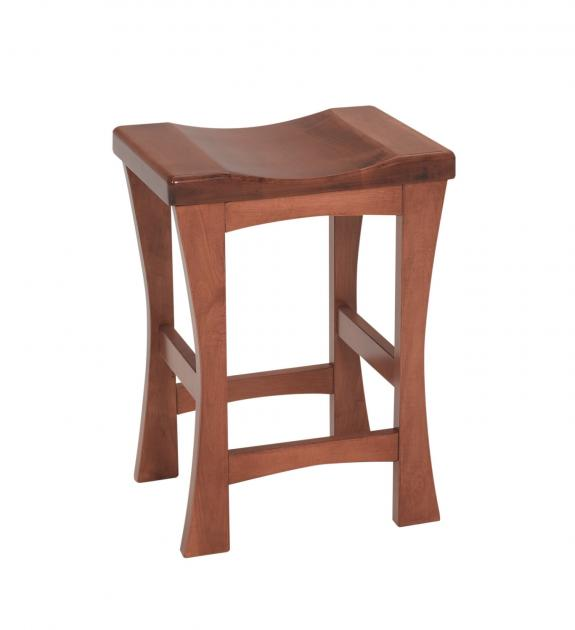 Kalston Mission 24 or 30 Backless Bar Stool