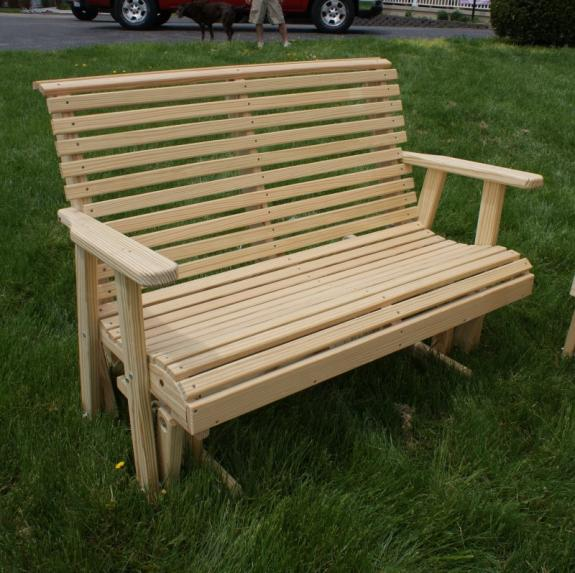 Low Back Glider, treated pine