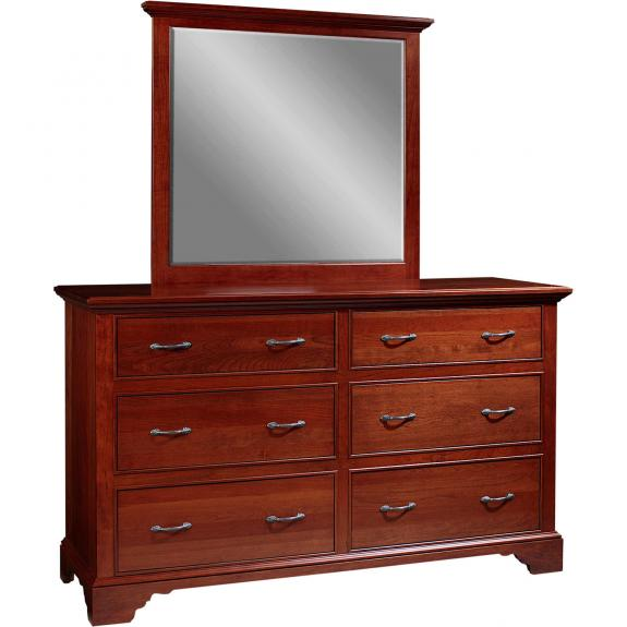 Lancaster Court Bedroom Set 6 Drawer Dresser