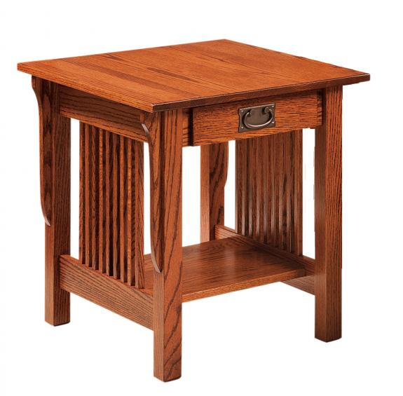 Leah Coffee and End Tables LE2224E End Table