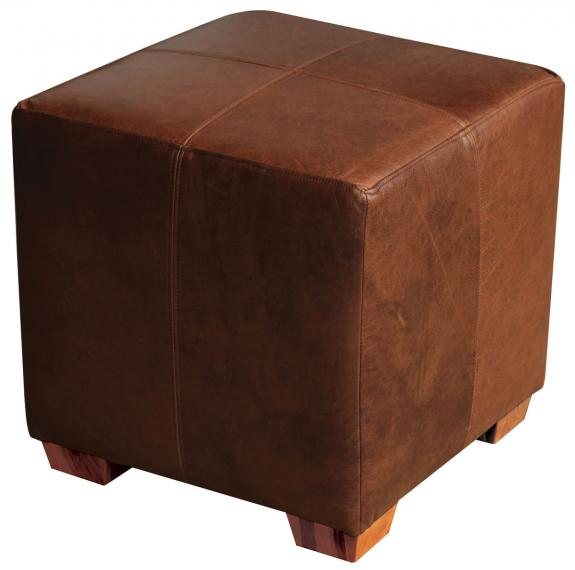 Leather Cube, Amish made in USA