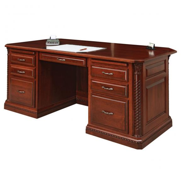 "LEX-301 Lexington 72"" Executive Desk"
