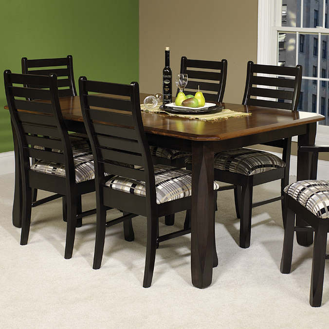 Liberty Ladderback Dining Set Liberty Leg Table