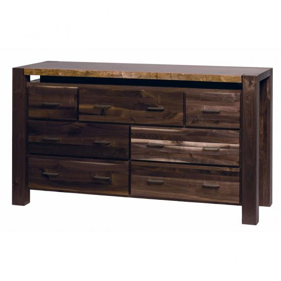 Live Edge Bedroom Set Double Dresser