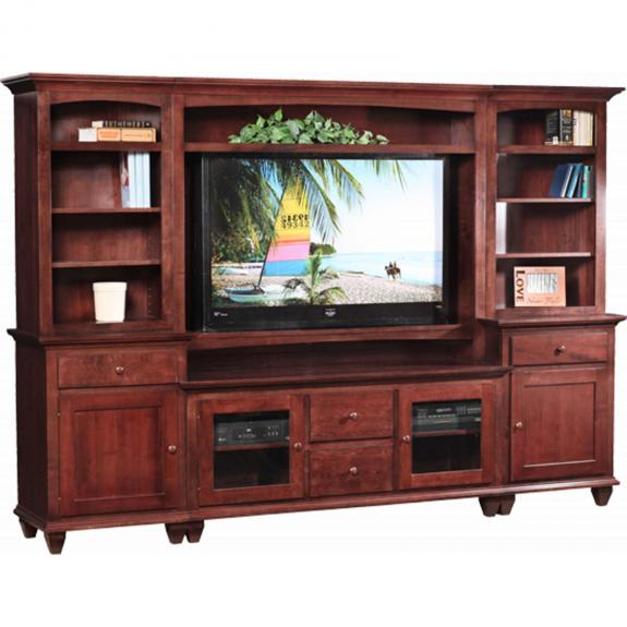 Loft Mountain Tapered Leg TV Wall Unit