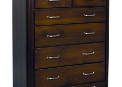 London-Brown-Maple-6-Drawer-Chest