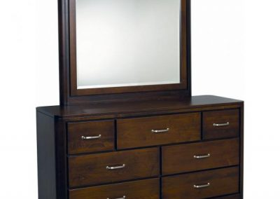 London-Brown-Maple-Dresser-with-Mirror