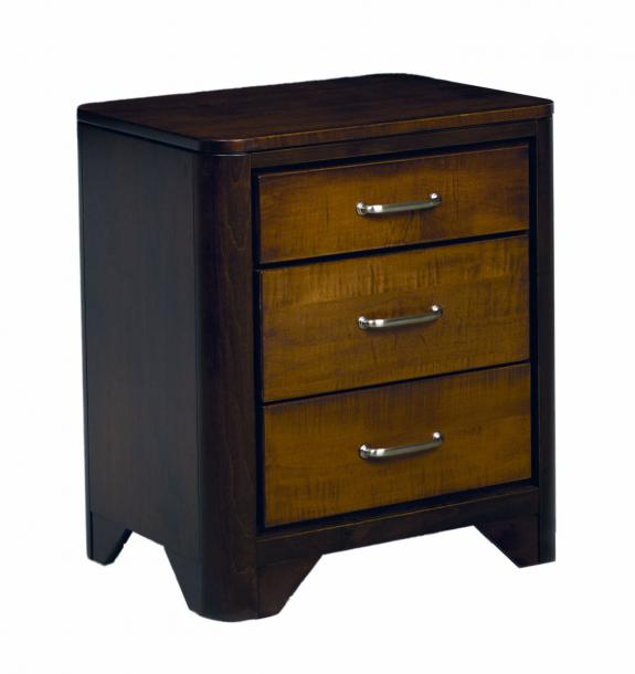 London Bedrooom Collection 3 Drawer Nightstand