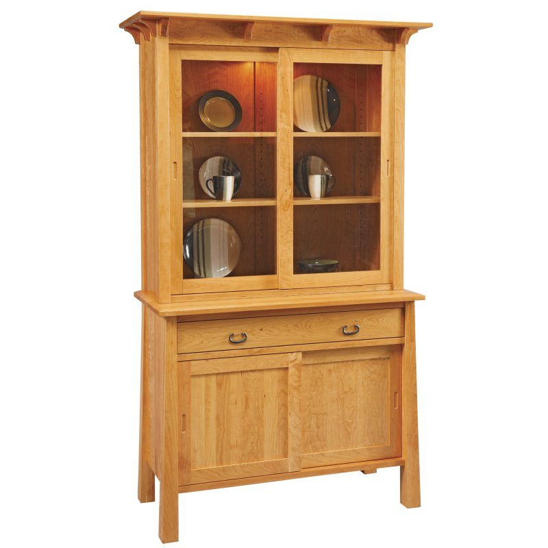 MC490FD The Rachel Madison Sliding Door Hutch