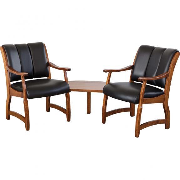 Midland 2 Seat with Corner Table
