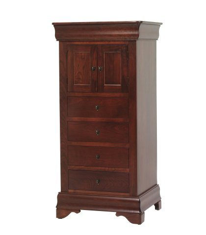 Louis Phillipe Bedroom Set Storage Tower