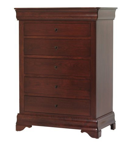 Louis Phillipe Bedroom Set Chest of Drawers