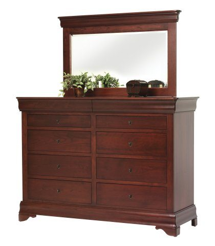 Louis Phillipe Bedroom Set High Dresser