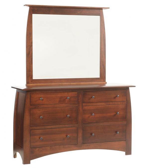 Bordeaux Bedroom Set Low Dresser