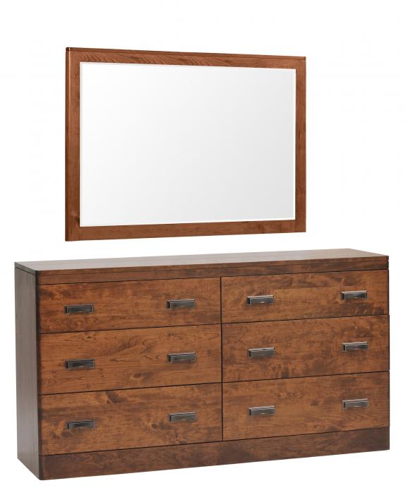 "Crossan Bedroom Furniture Collection MFC563DR 63"" Dresser"