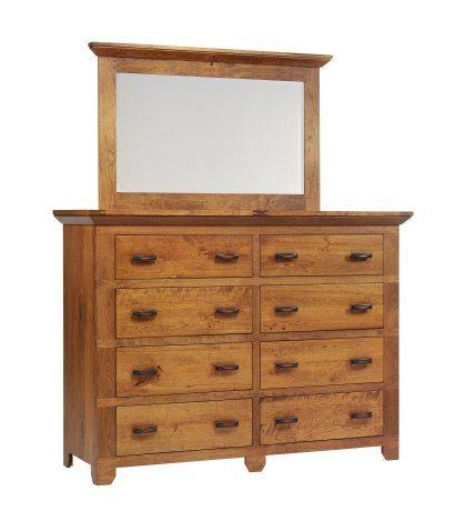 Redmond Wellington Bedroom Set High Dresser