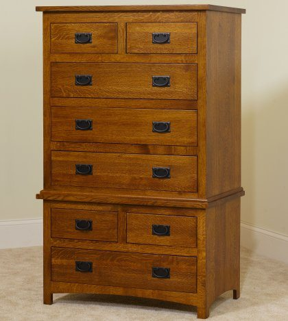 Michael's Mission Bedroom Set MB2955 Chest on Chest