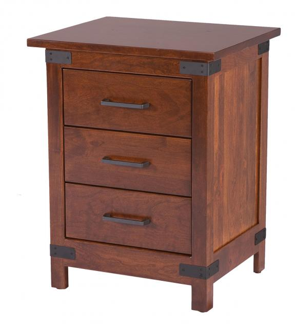 Montrose Bedroom Furniture Set 3 Drawer Night Stand