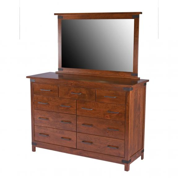 Montrose Bedroom Furniture Set Double Mule Dresser