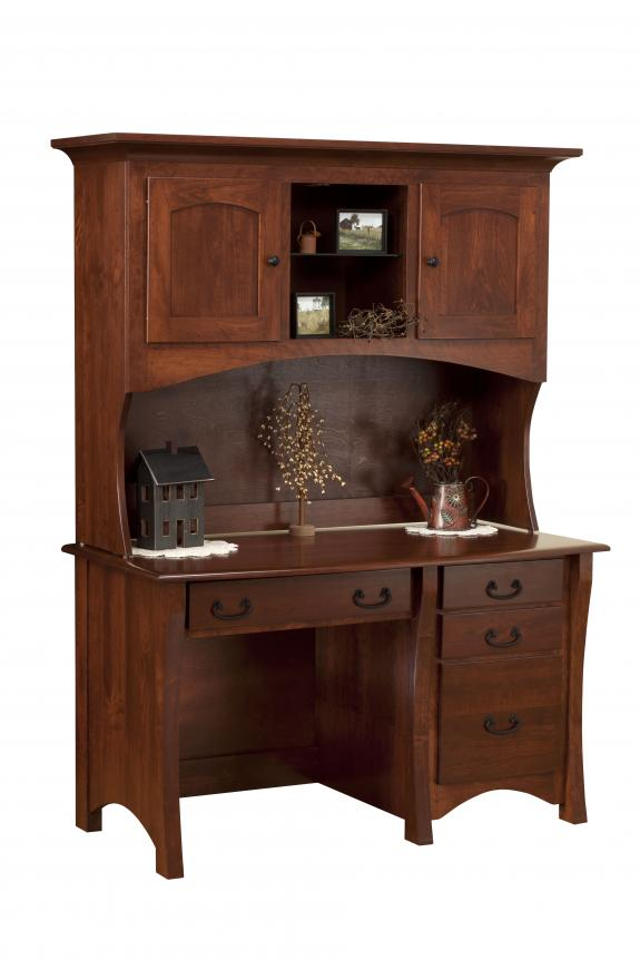 MTR-44-DH Desk with Hutch