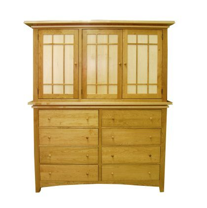 Maple Creek Bedroom Set Double Armoire