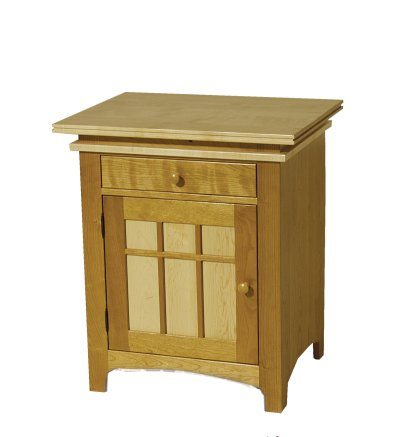 Maple Creek Bedroom Set Nightstand with Door | Clear Creek Amish ...