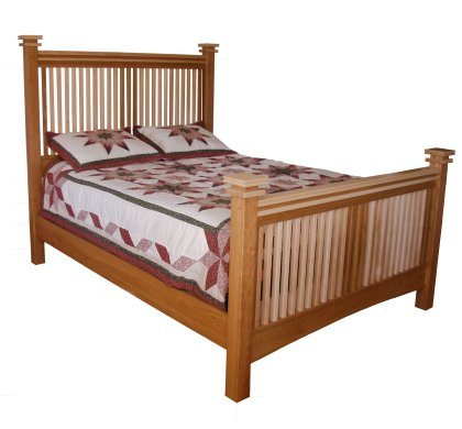 Maple Creek Bedroom Set Slat Bed