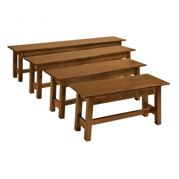 McCoy Open Dining Benches